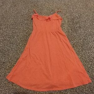 Mossimo orange cami dress